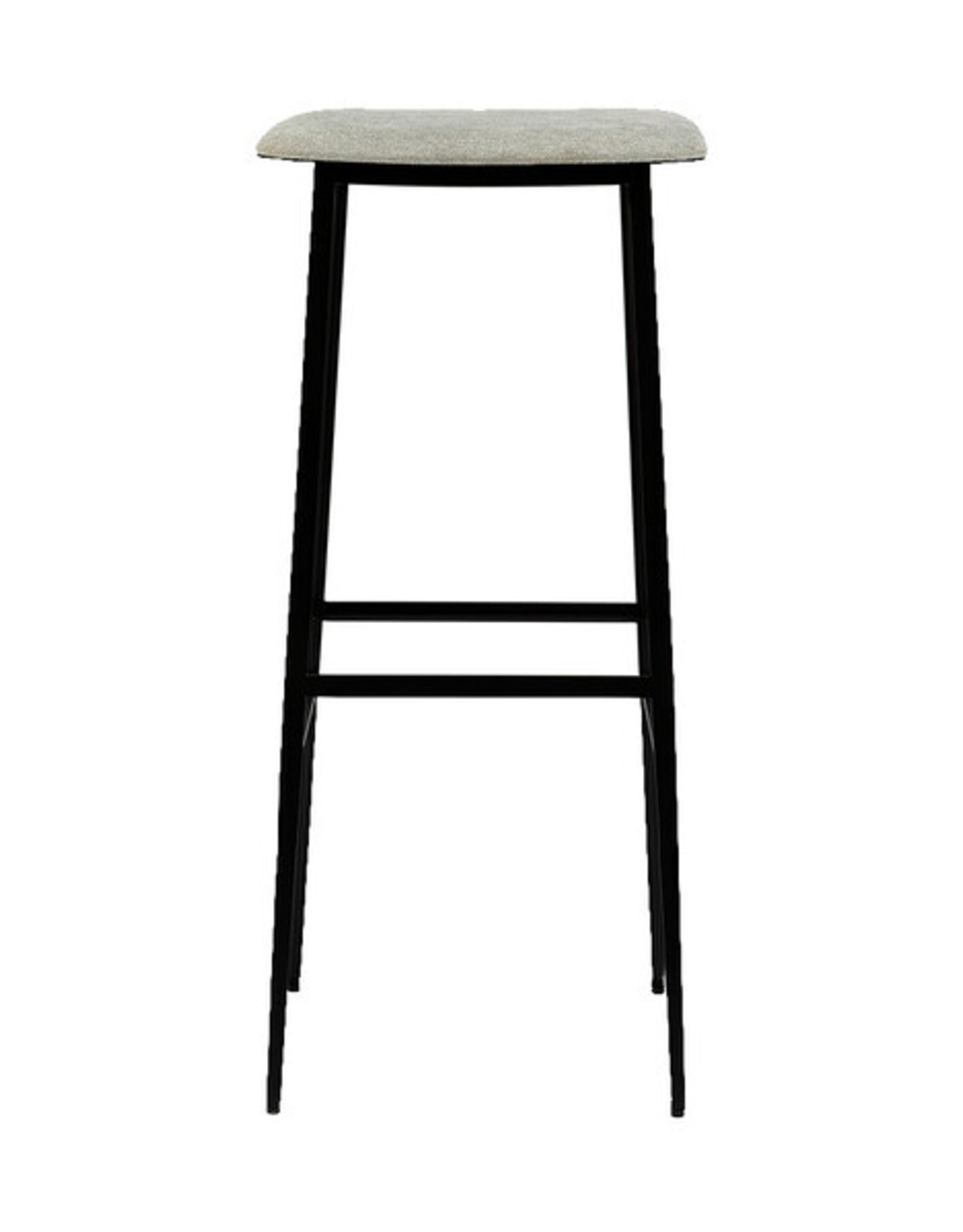DC bar stool (without backrest) - light grey