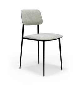 Ethnicraft DC dining chair - Light grey