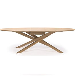 Oak Mikado meeting table - Varnished