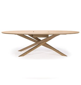 Ethnicraft Oak Mikado meeting table - Varnished