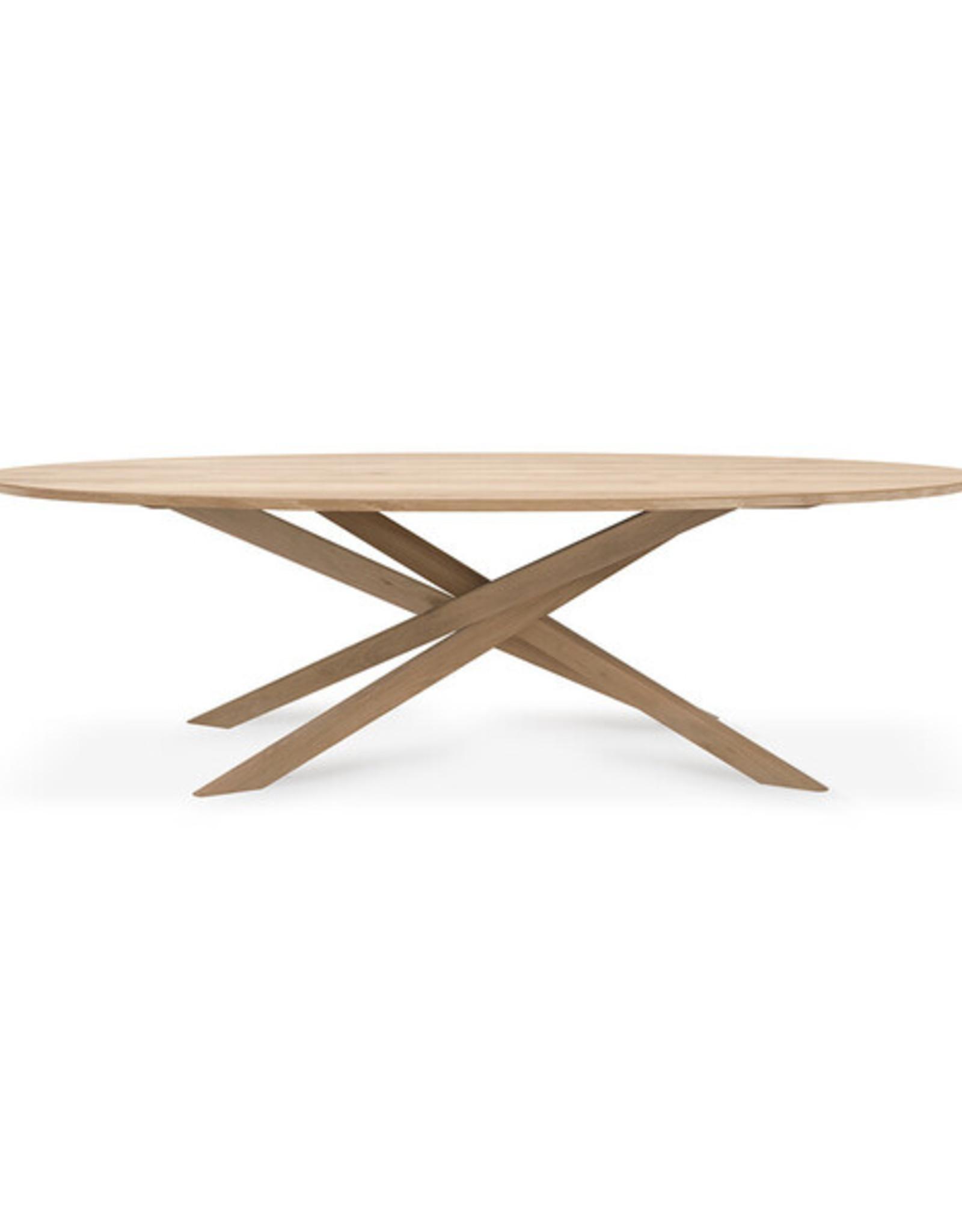 Oak Mikado dining table - oval