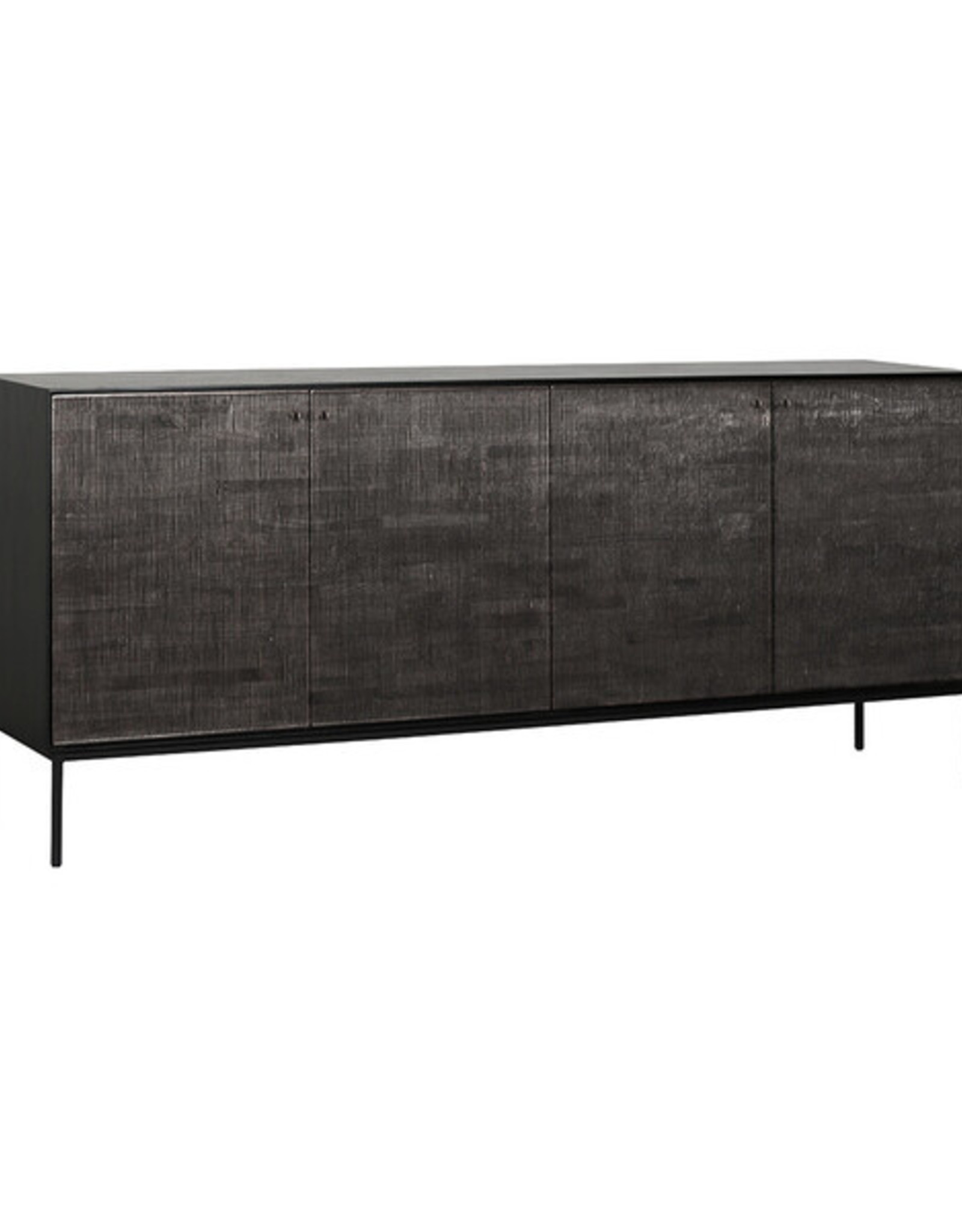 Ethnicraft USA LLC Teak Grooves Sideboard 4 Doors