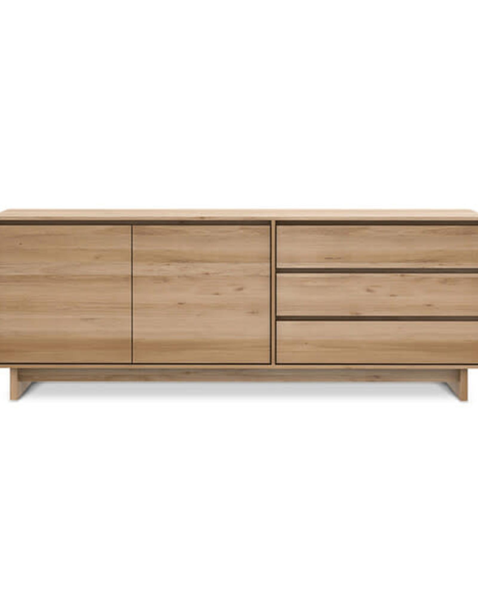 Oak Wave Sideboard