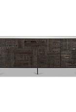 Teak Tabwa sideboard - 4 doors