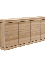 Oak Burger sideboard - 4 doors
