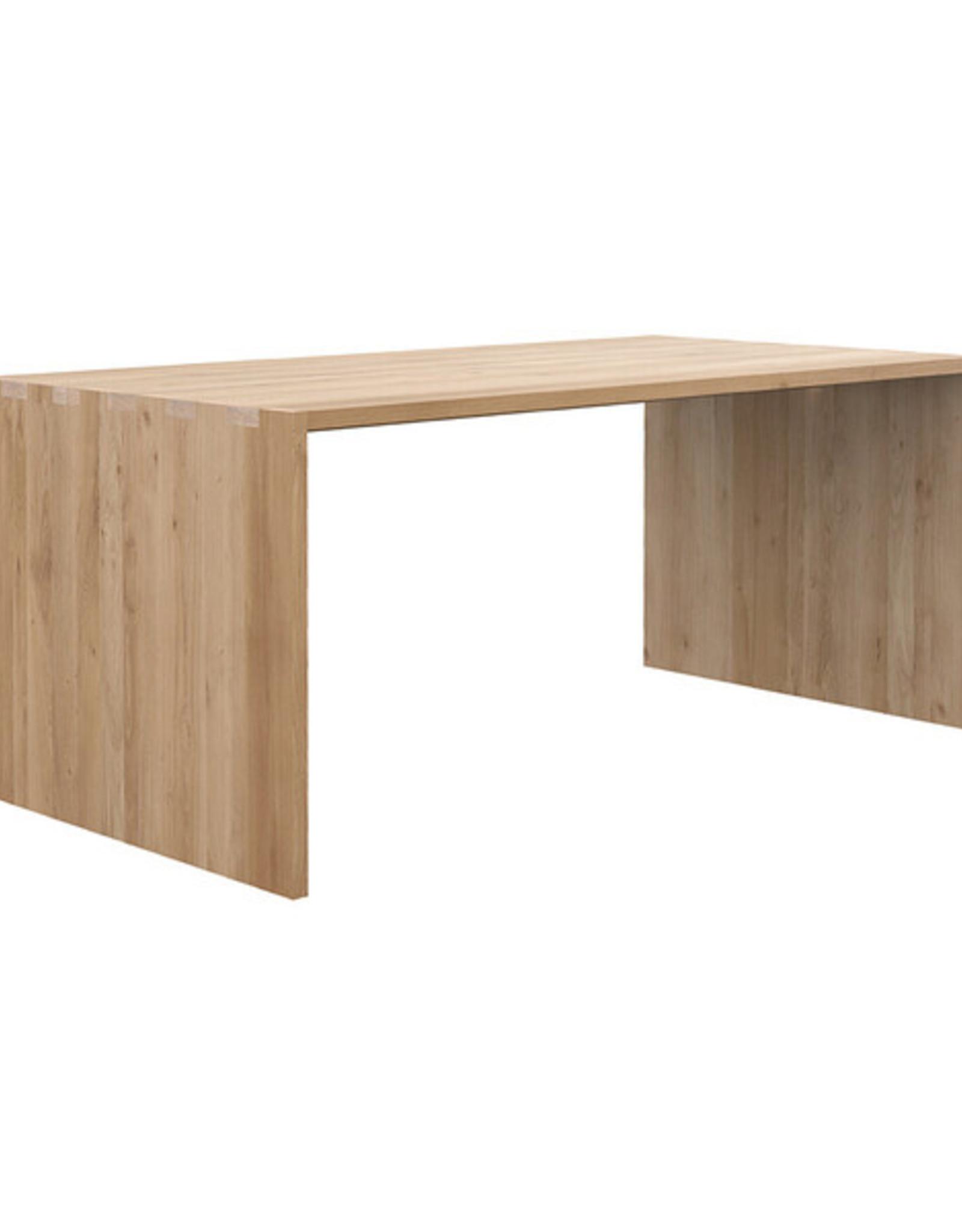 Oak U Desk, 79x35