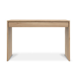 Ethnicraft Oak Wave desk - 1 drawer