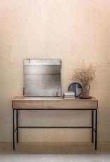 Oak Whitebird desk - 2 drawers - Varnished