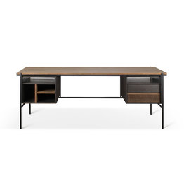 Ethnicraft Teak Oscar desk - 2 drawers