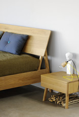 Oak Air bedside table - 1 drawer