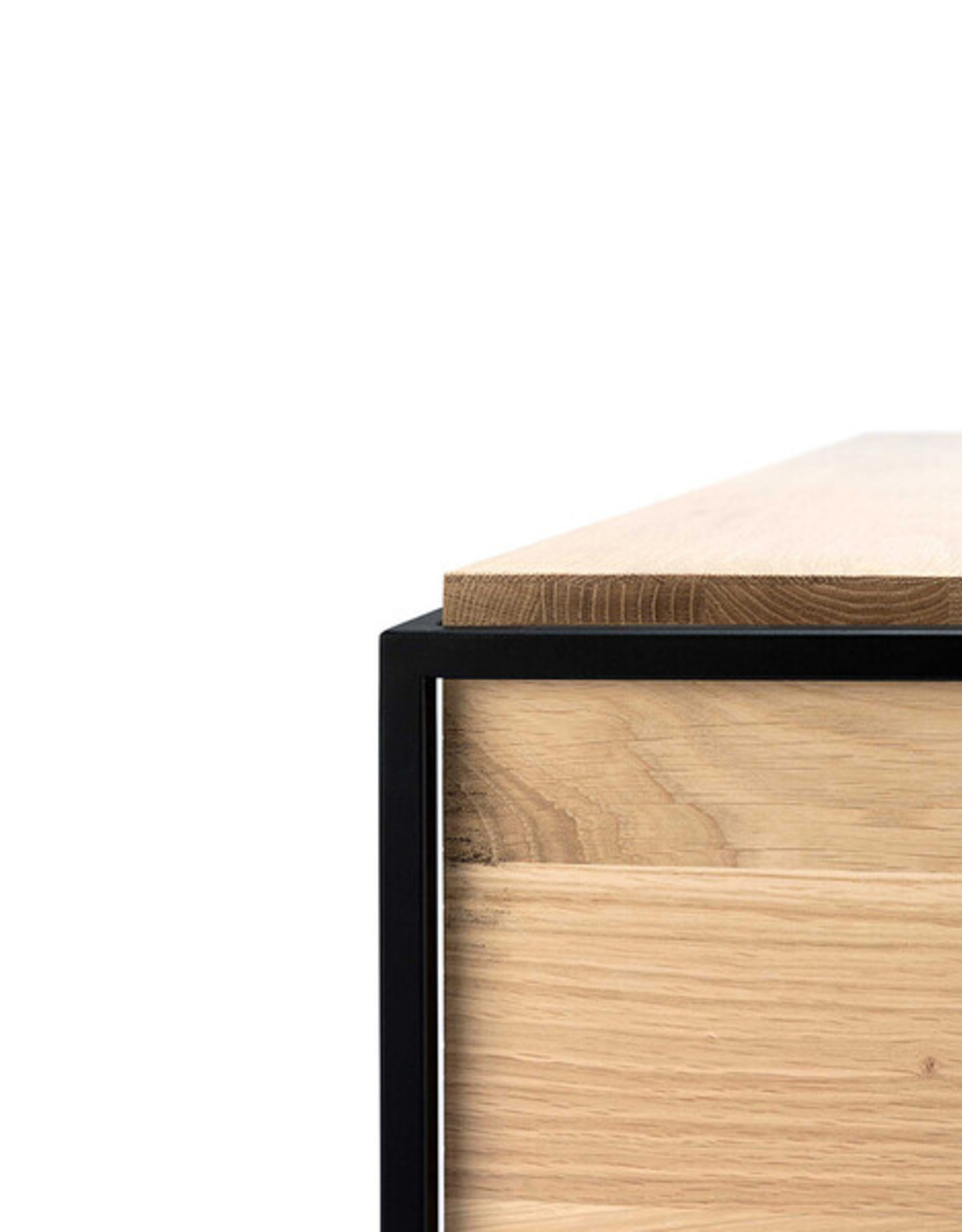 Oak Monolit Bedside Table