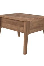 Teak Air bedside table - 1 drawer