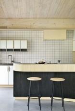 Oak Baretto bar stool - Varnished