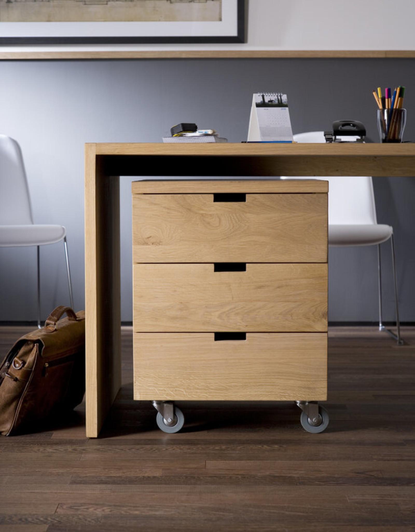 Oak Billy box - 3 drawers