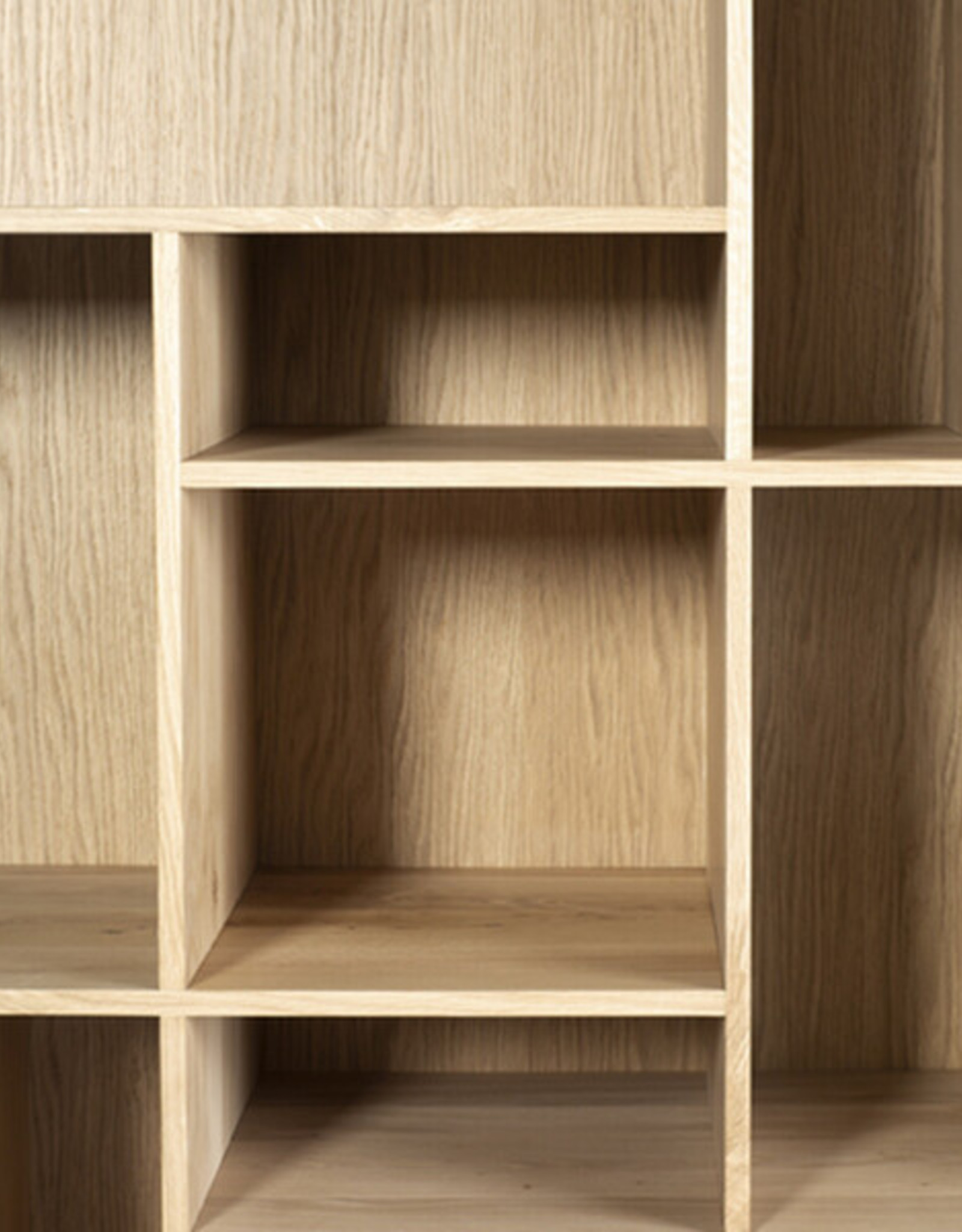 Oak Blackbird rack - Varnished