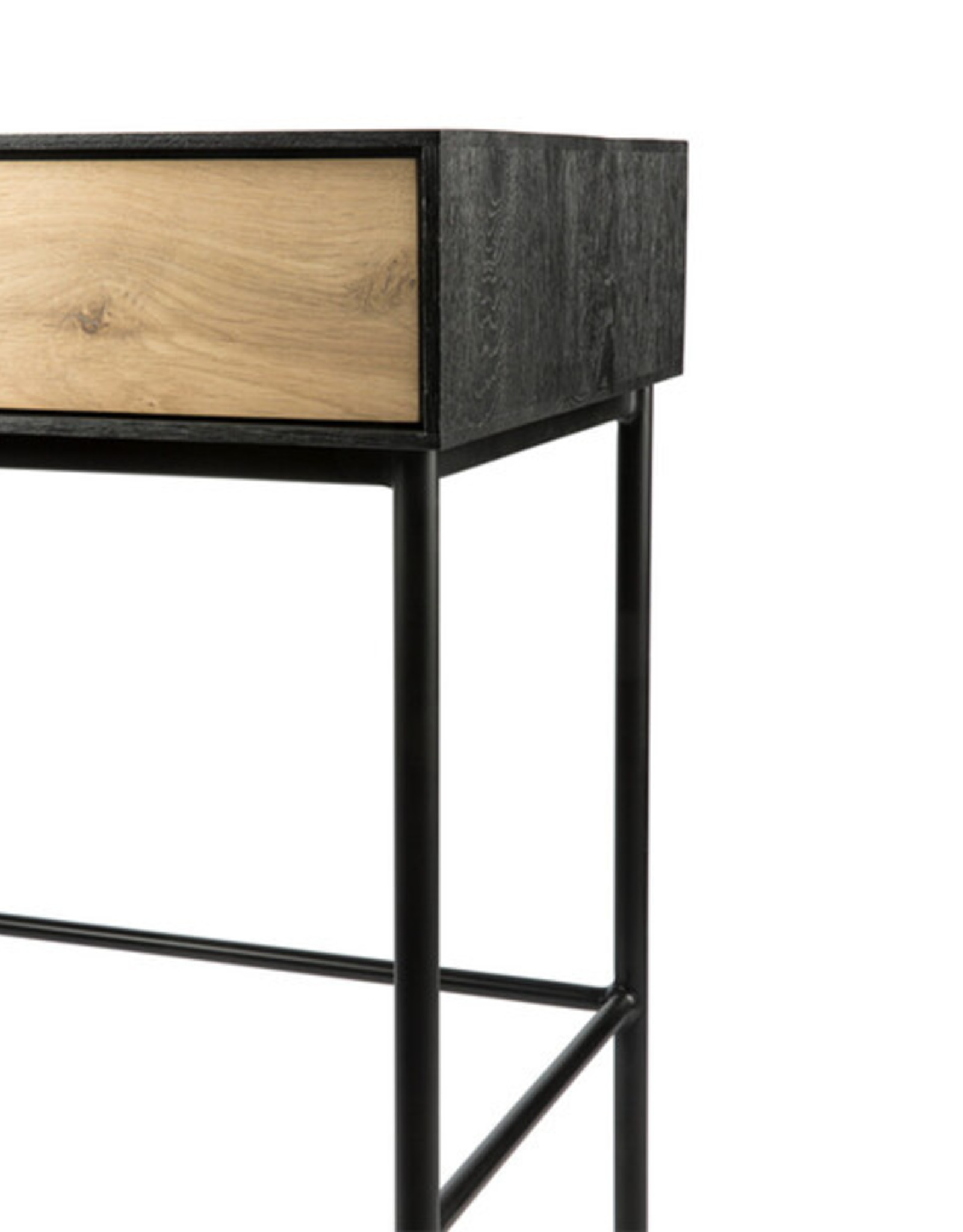 Oak Blackbird desk - 2 drawers - Varnished