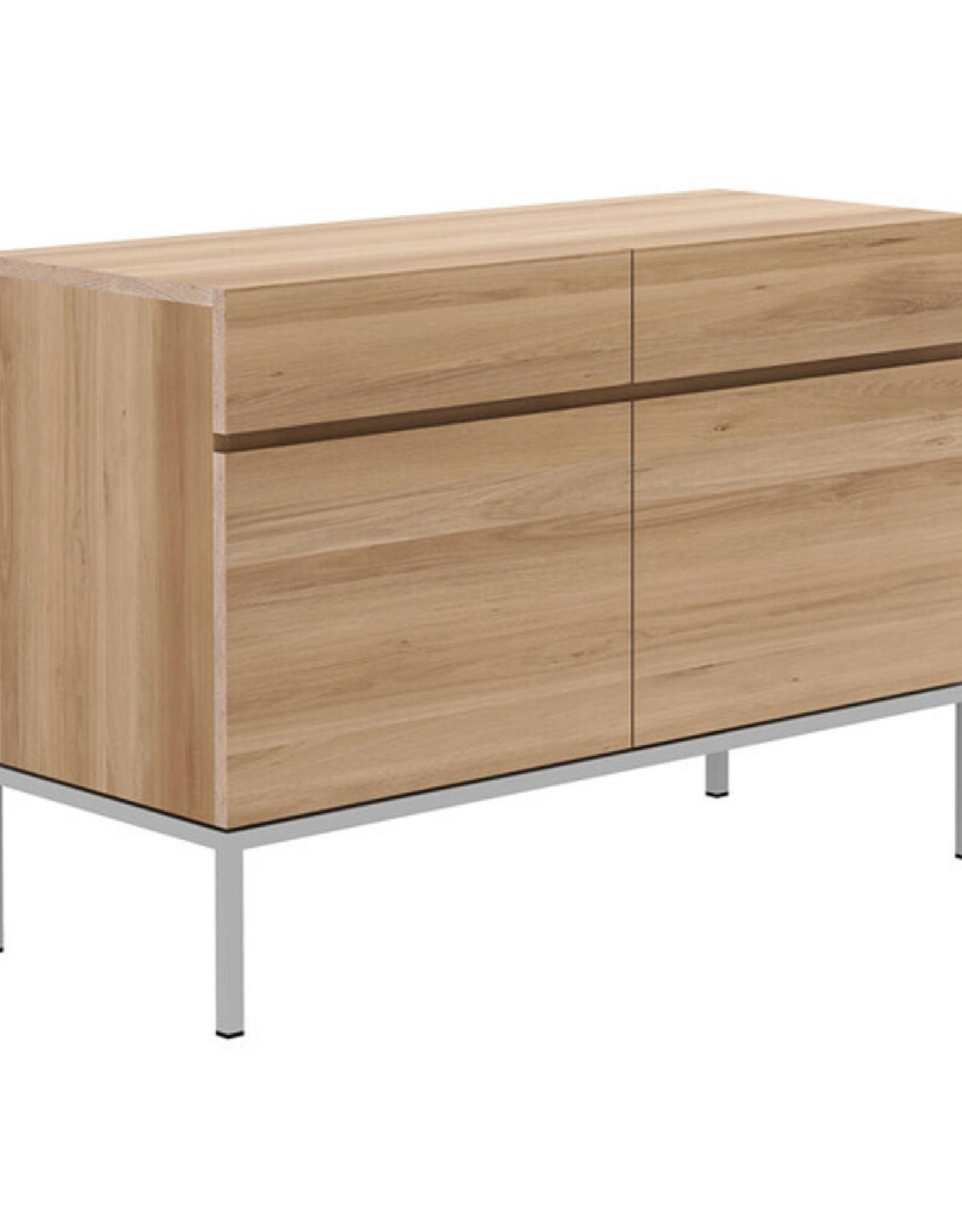 Oak Ligna Sideboard - 2 Doors/2 Drawers