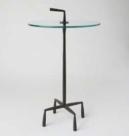 Global Views Quad Pod Accent Table - Natural Iron