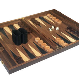 Walnut Backgammon Set, 18