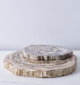 Petrified Wood Platter, 14 inch