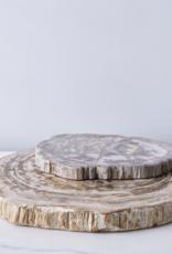 Petrified Wood Platter, 20 inch
