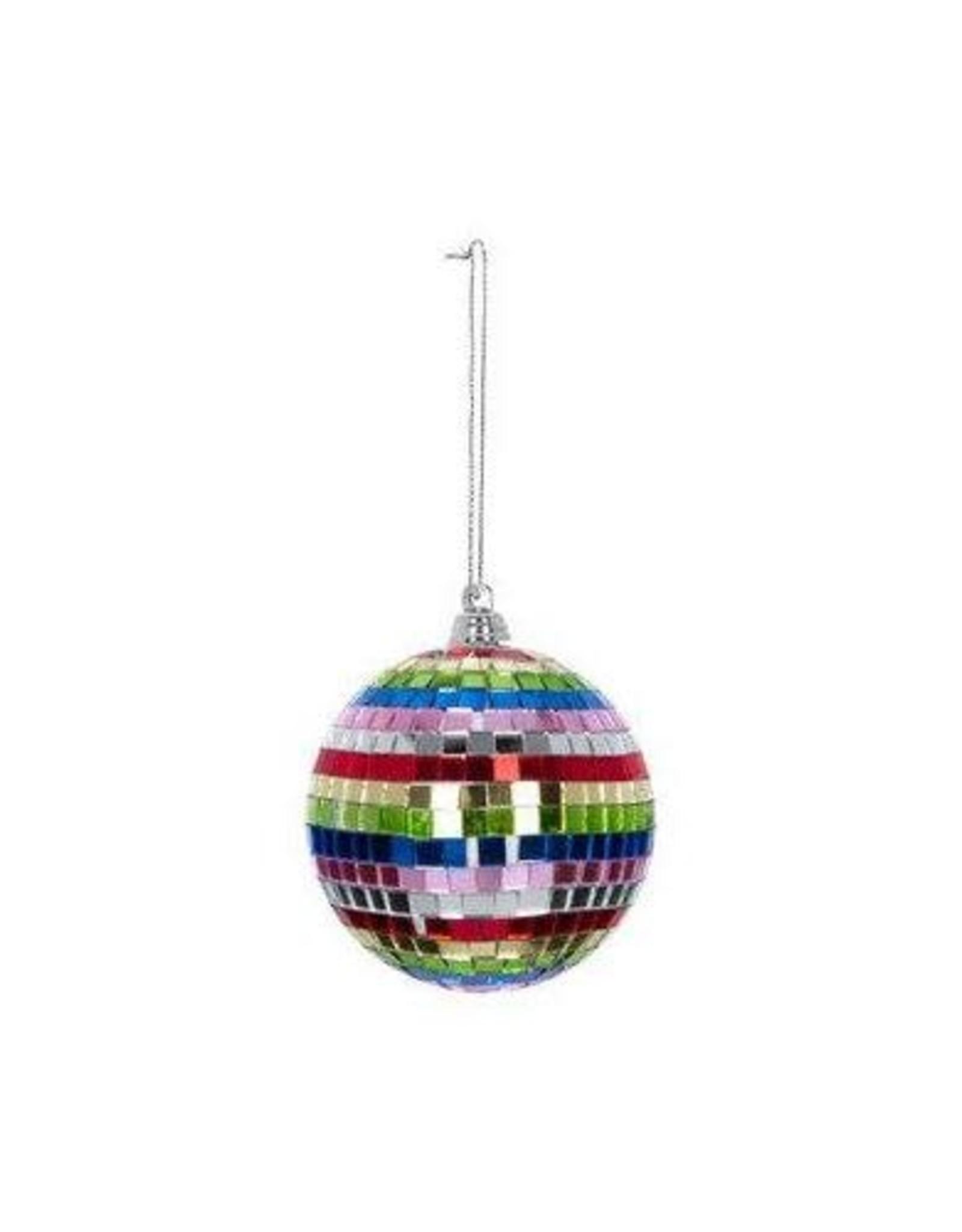 Spectrum Mirror Ball Ornament