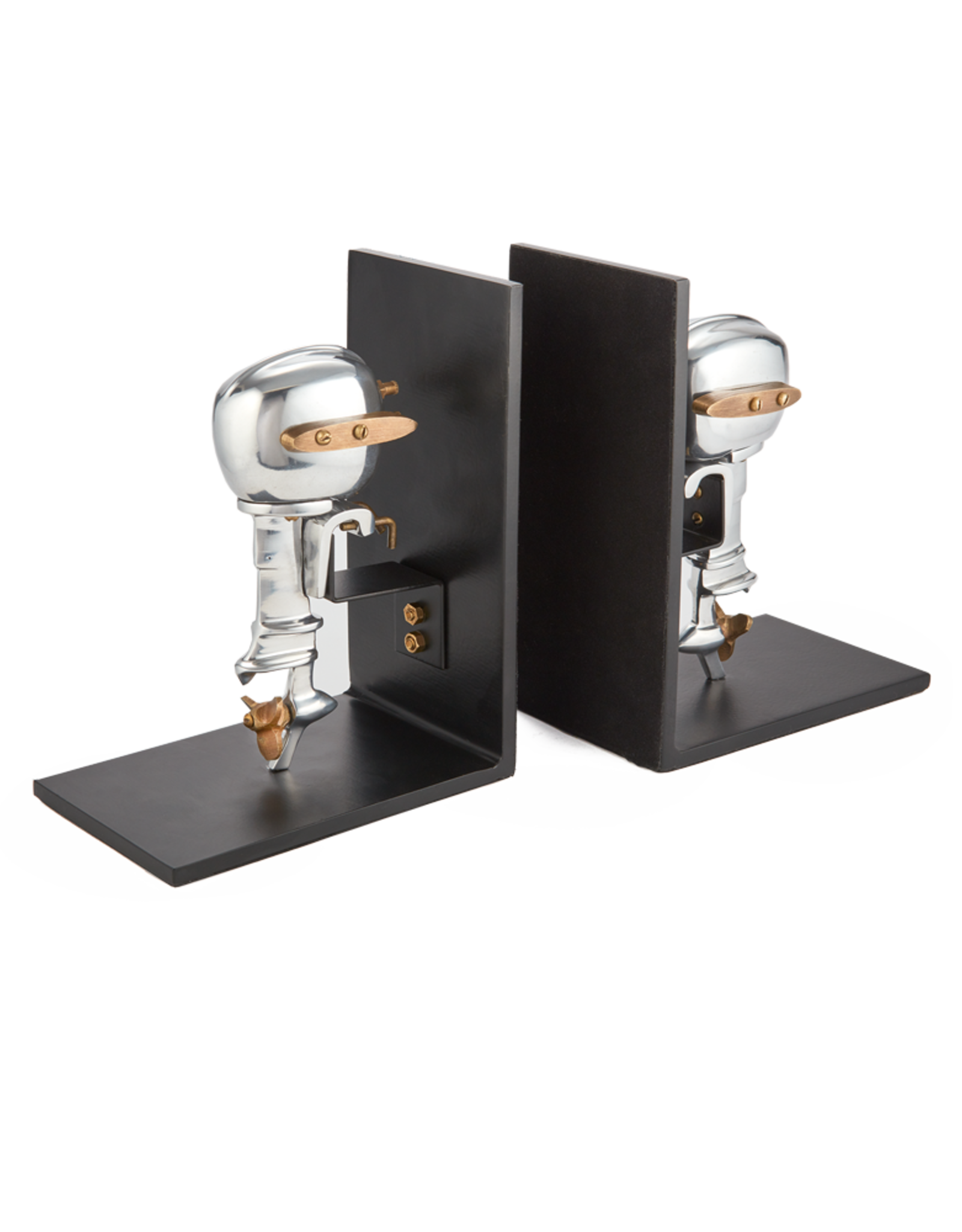 Outboard Motor Bookends