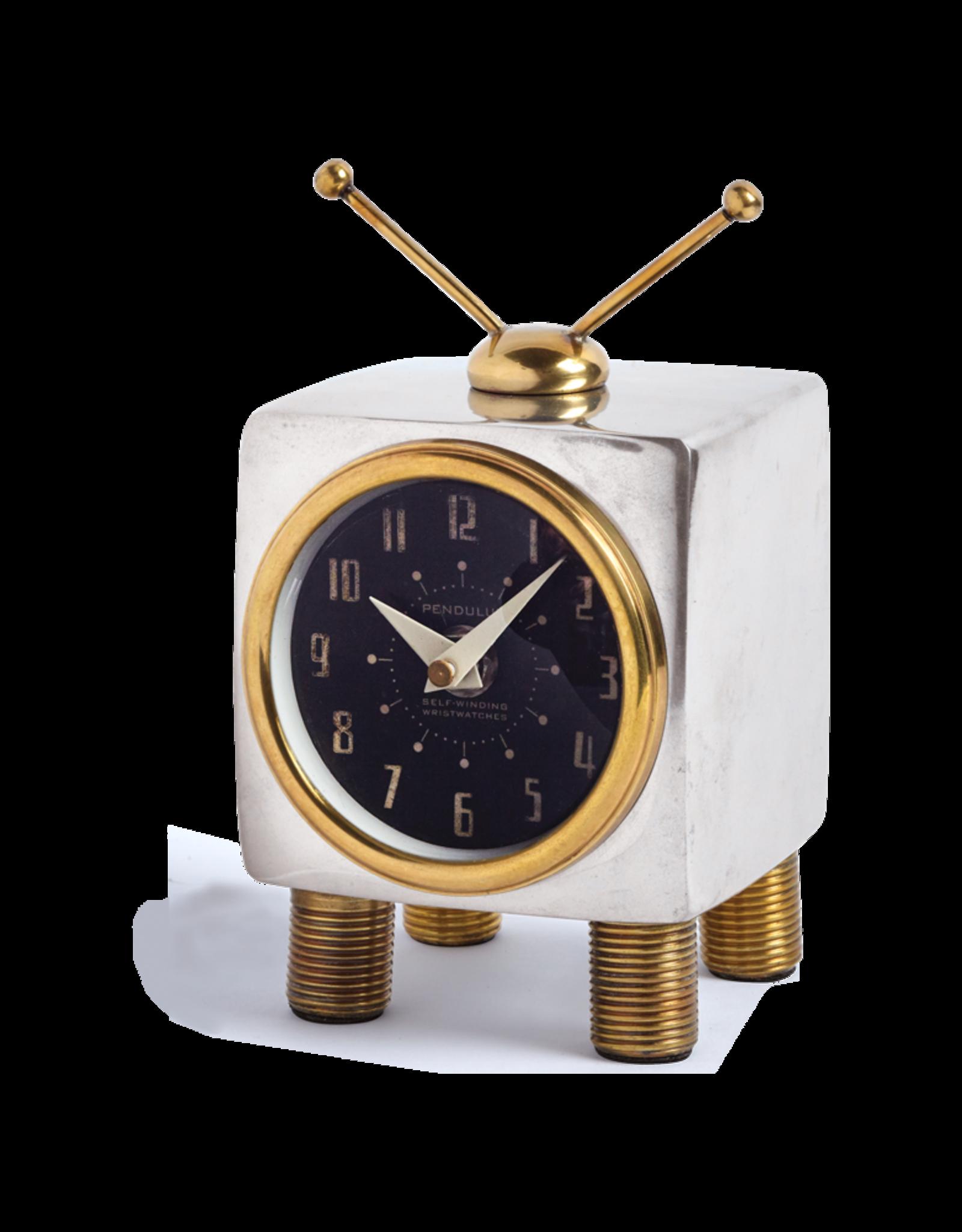 Teevee Table Clock