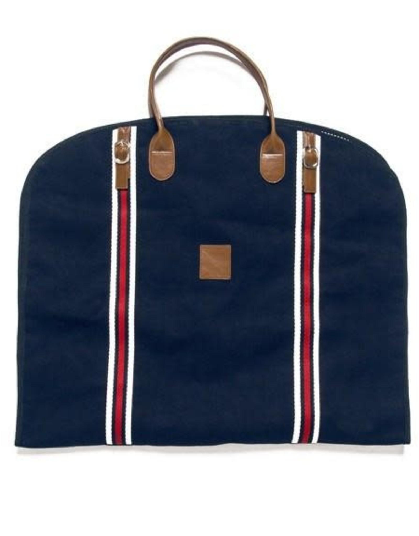 Brouk Original Garment Bag, Navy Blue