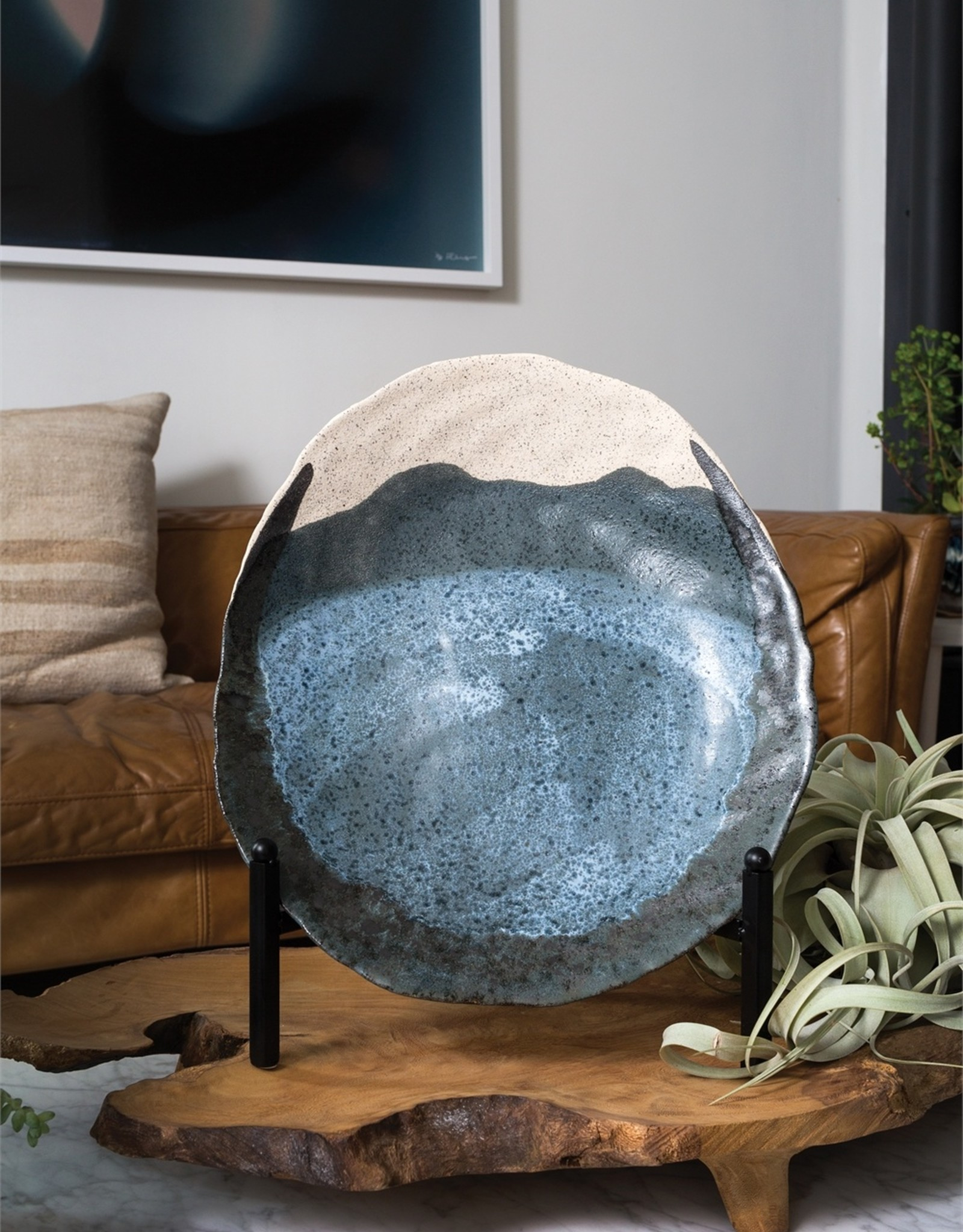 Accent Decor Finn Plate
