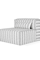 Gus* Modern Mix Modular Sectional, Armless