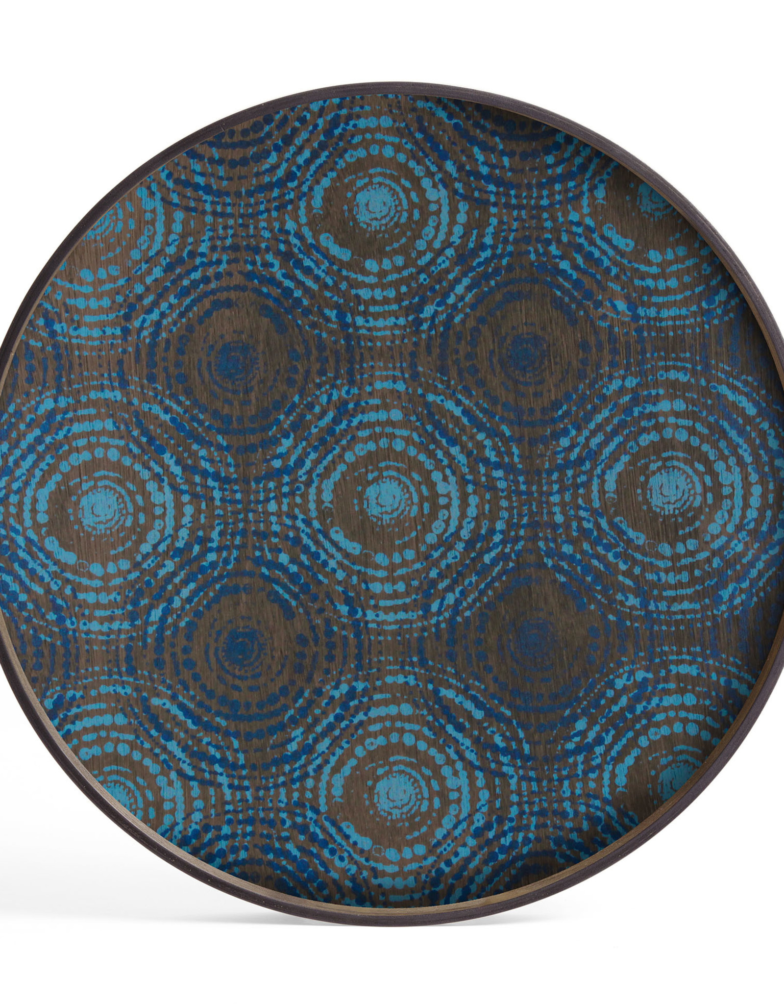 Seaside Beads wooden tray - round - L 24 x 24 x 2