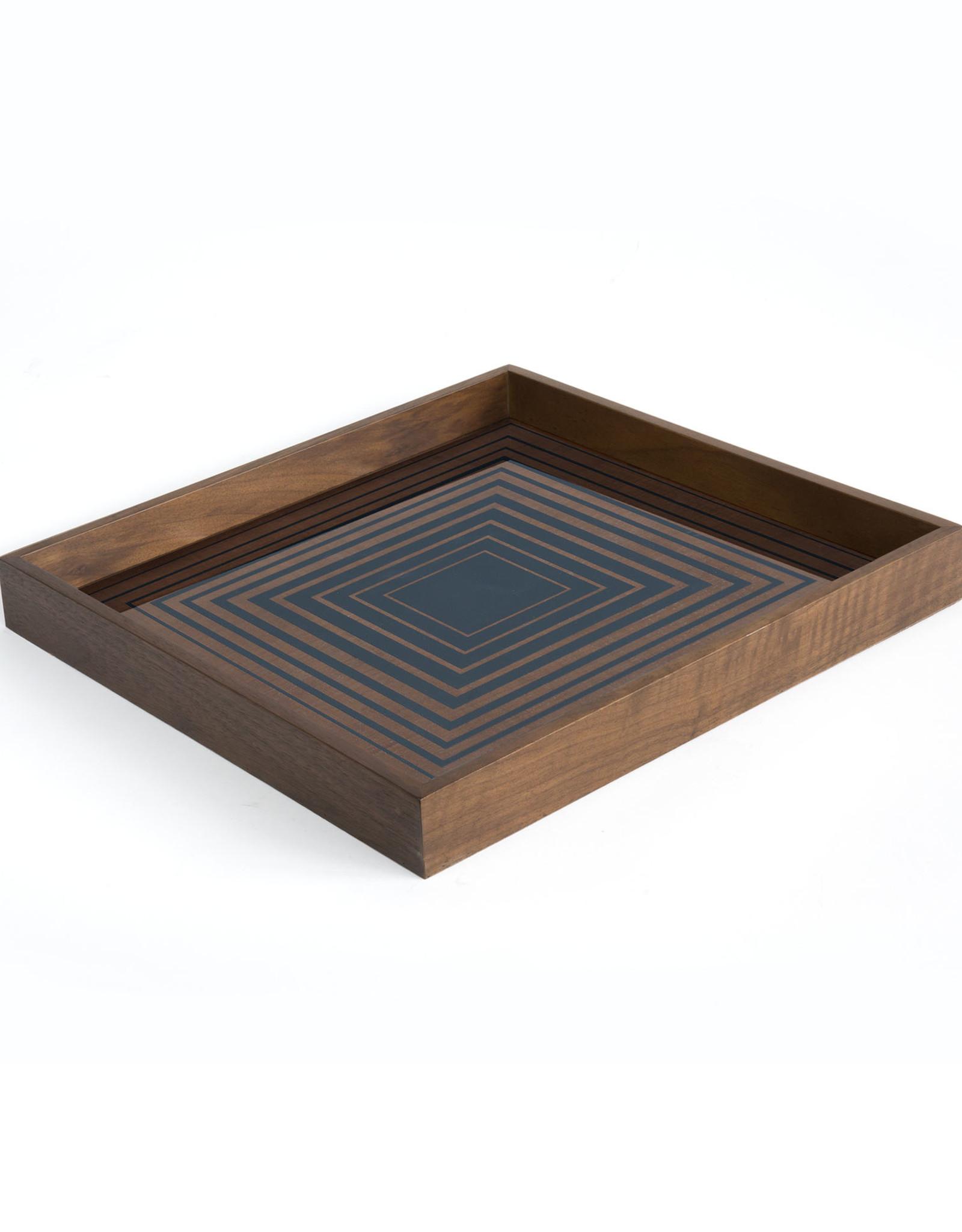 Ink Square glass tray - square - S 15 x 15 x 2