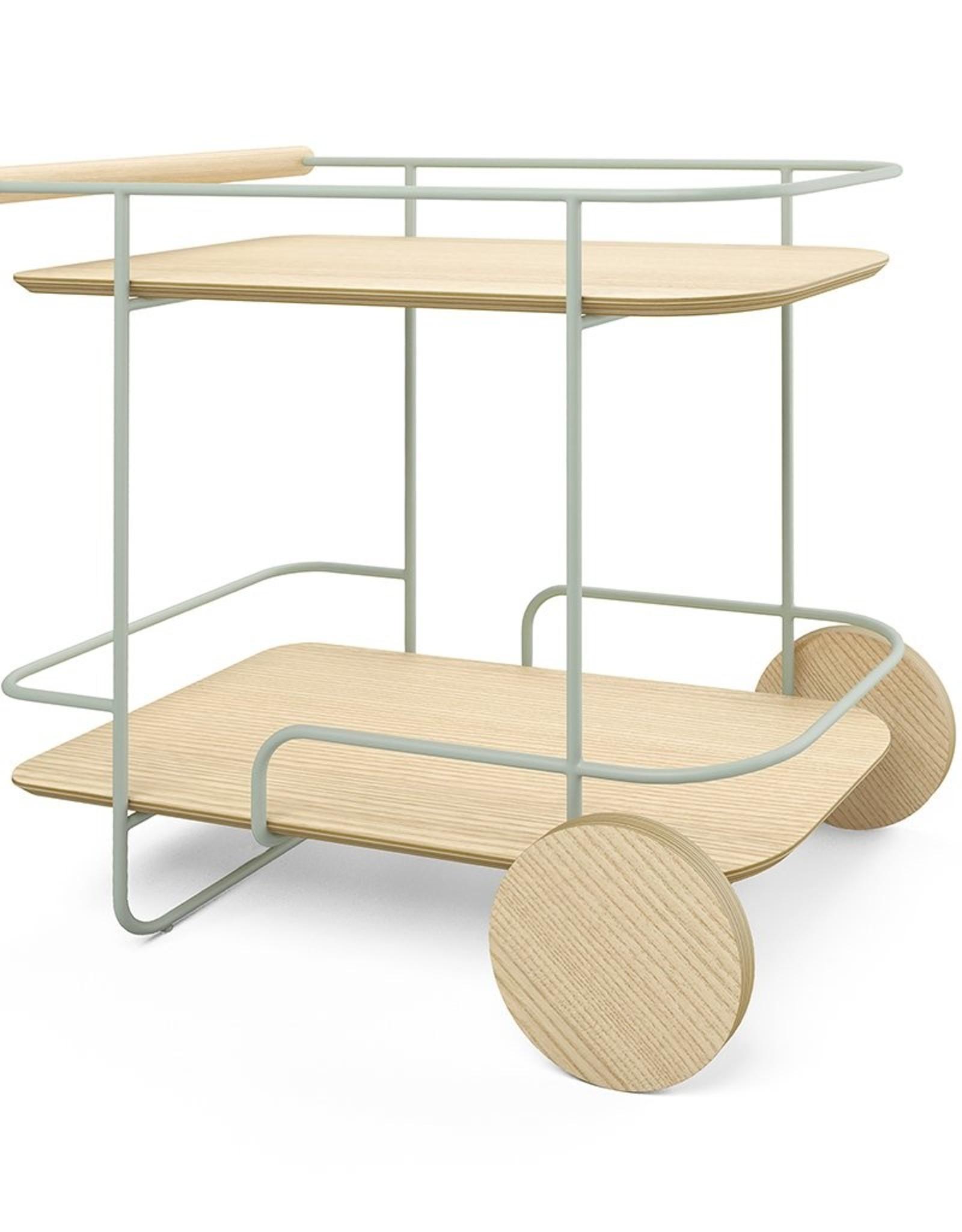 Gus* Modern Arcade Bar Cart