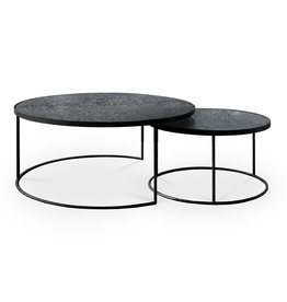 Charcoal Nesting coffee table - set of 2