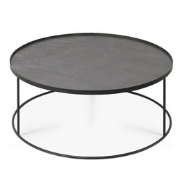 Round tray coffee table - XL (tray not included) 37 x 37 x 15