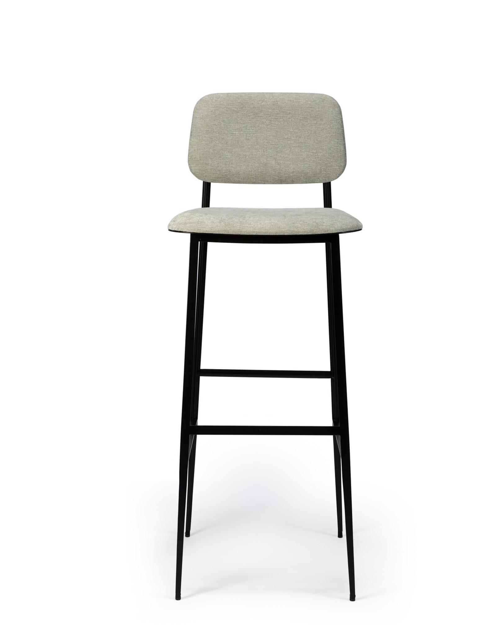 DC bar stool - light grey