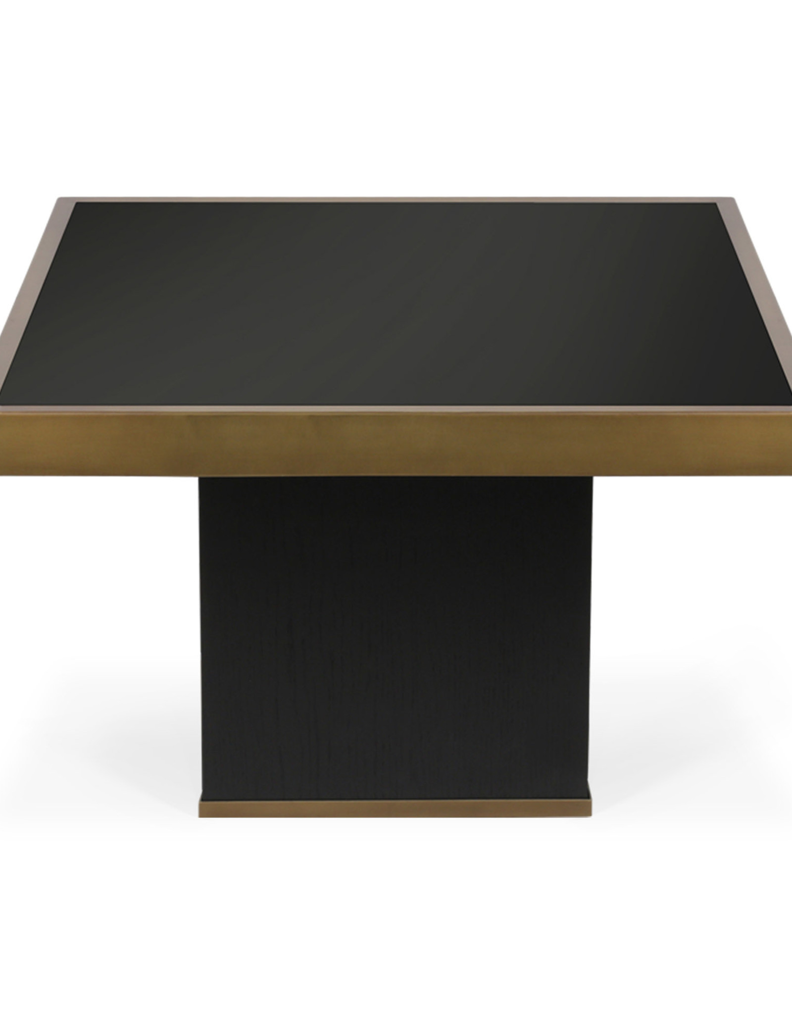 Trifecta charcoal coffee table - L
