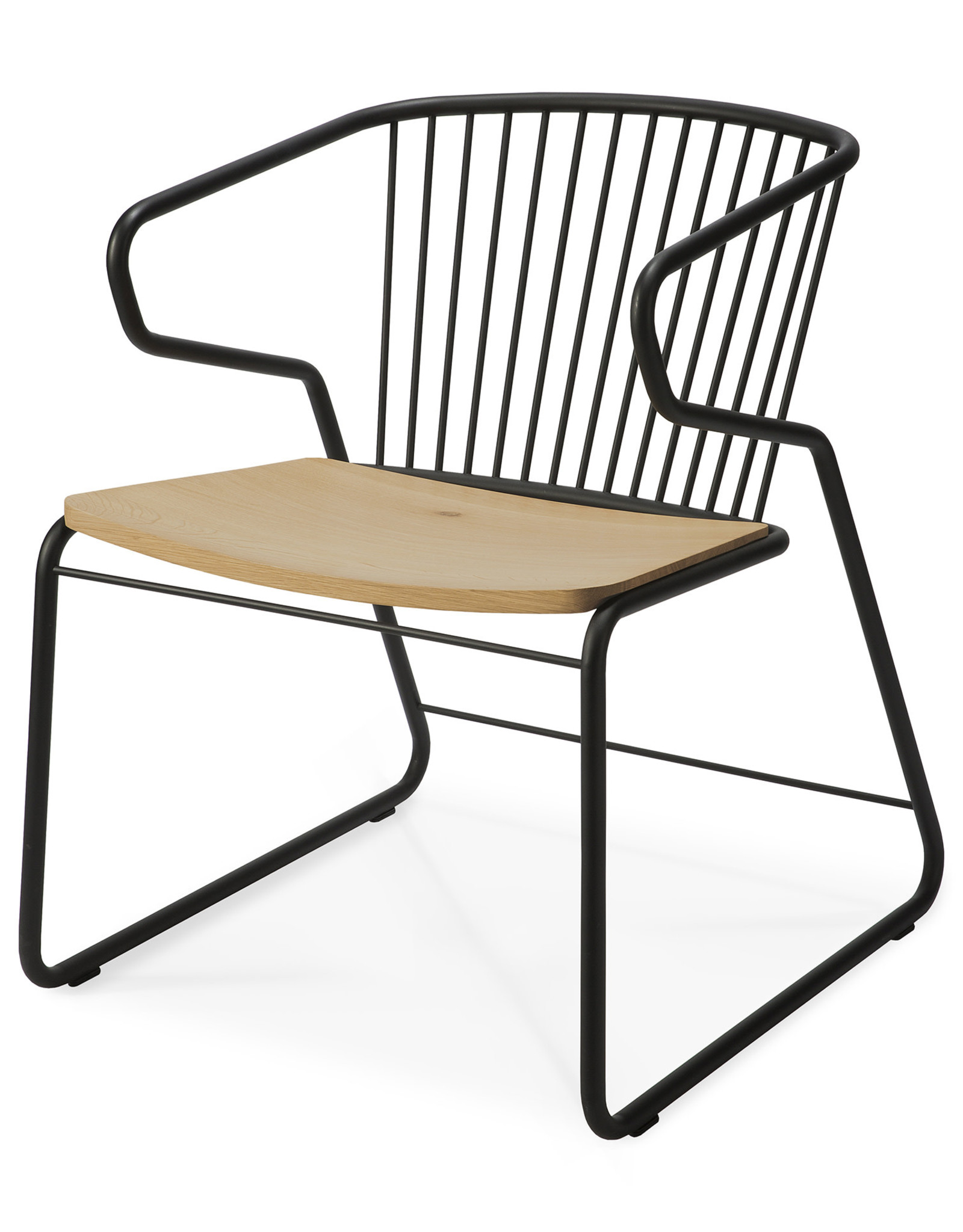 Oak Gabbia chair
