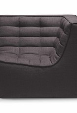 N701 sofa - corner - dark grey