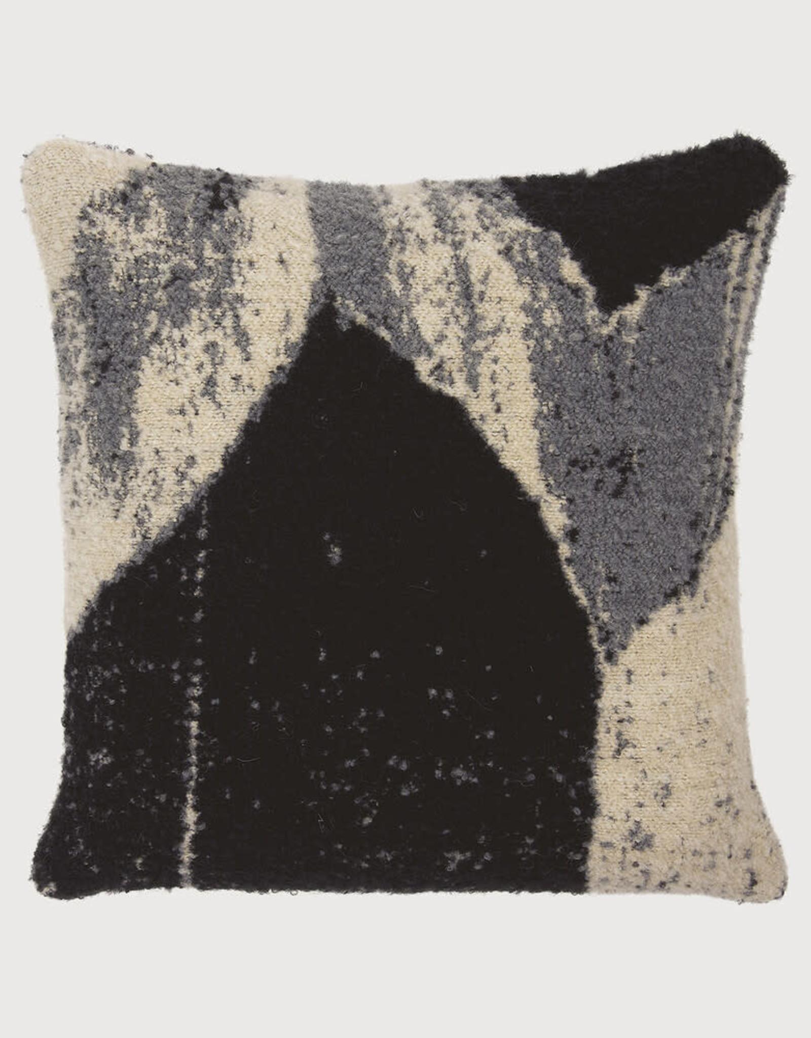 Nero Chevron Square Cushion