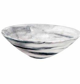 Nashi Home Everyday Small Bowl - Black Swirl