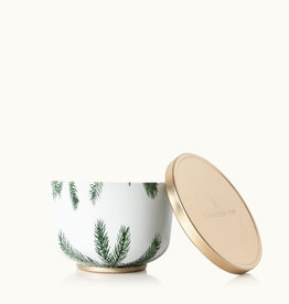 Frasier Fir Candle Tin with Gold Lid
