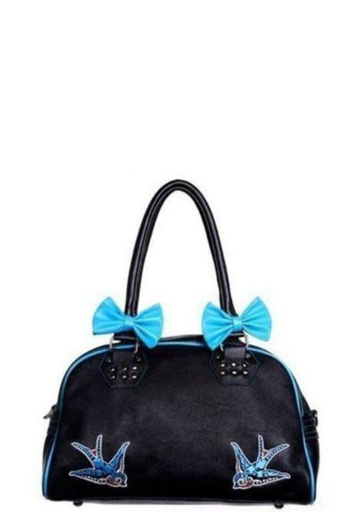 Swallows Ribbons Handbag