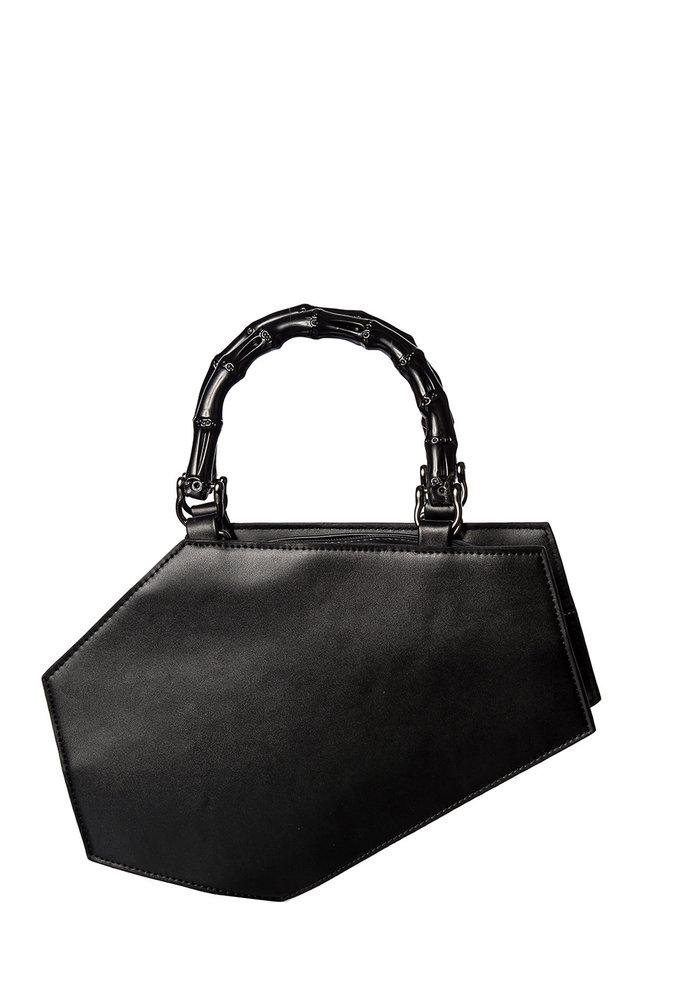 Amaranth Coffin Handbag