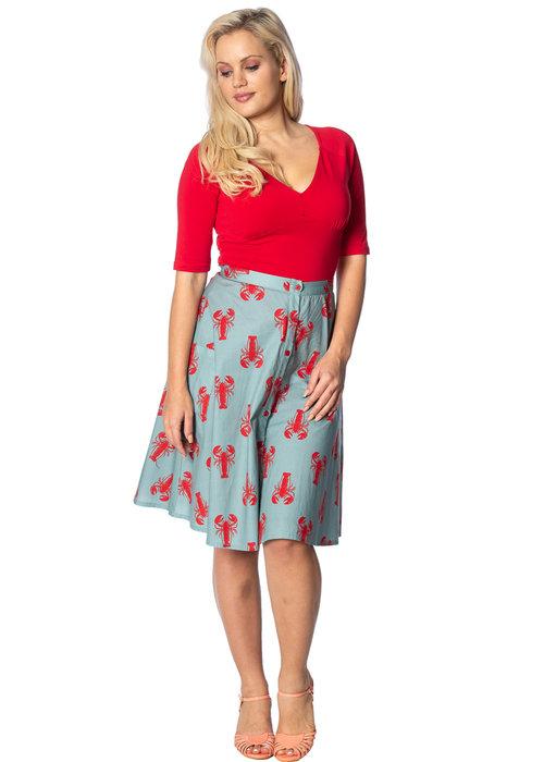 Banned Lobster Love Skirt