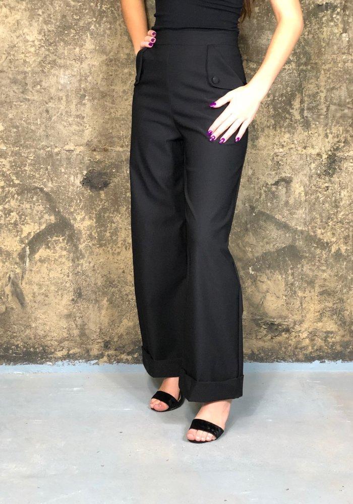 Pantalon Angélique Noir +