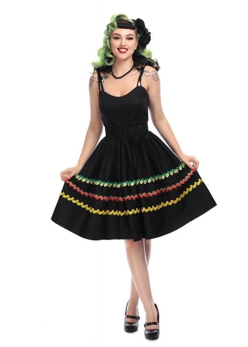 Collectif Robe Jade Fruity