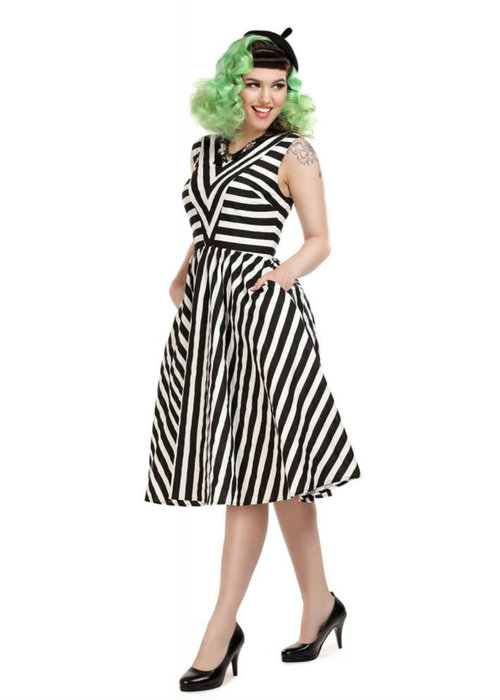 Collectif Robe Joanie Beetlejuice