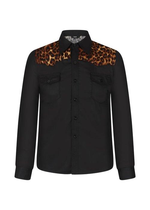 Banned Chemise Rockstar Leopard\Noire